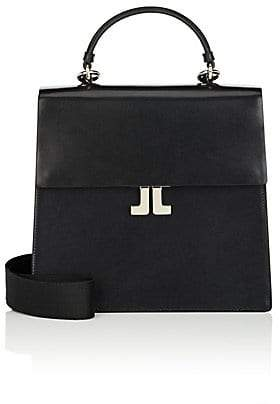 Lanvin Women's JL Leather Convertible Backpack - Black