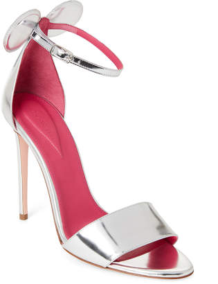 Oscar Tiye Minnie Leather Two-Piece High Heel Sandals