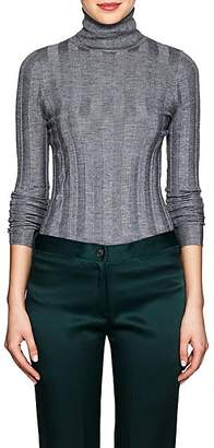 Derek Lam Women's Core Cashmere-Blend Turtleneck Sweater - Gray