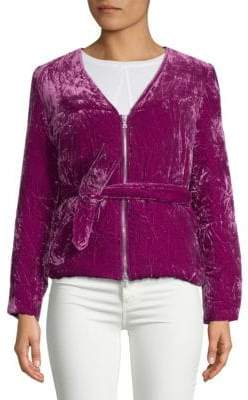 Dries Van Noten Textured Wrap Jacket