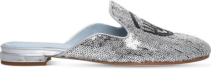 Chiara FerragniChiara Ferragni Flirting sequin slippers