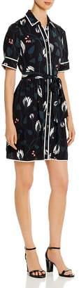 Kate Spade Deco Bloom Short-Sleeve Shirt Dress