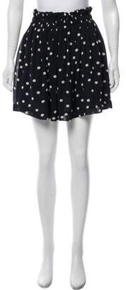 Ganni Polka Dot Mini Skirt