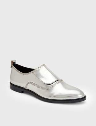 Calvin Klein dayo metallic leather loafer