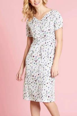 Yumi French Botanical Dress