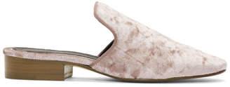 Rag & Bone Pink Velvet Luis Slippers