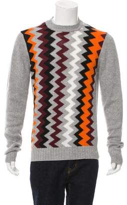 Prada Wool & Cashmere-Blend Sweater