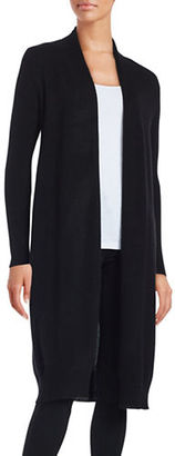 Lord & Taylor Open-Front Cashmere Duster $268 thestylecure.com