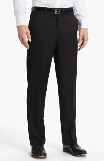 Linea Naturale 'New Cool Luxe' Super 100s Wool Gabardine Trousers