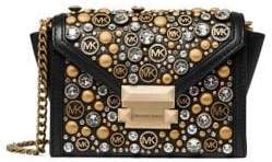 MICHAEL Michael Kors Extra Small Whitney Convertible Leather Crossbody Bag
