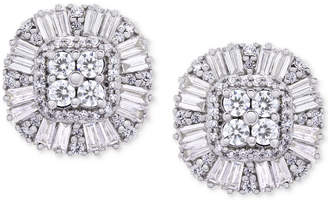 Macy's Wrapped in LoveTM Diamond Cluster Stud Earrings (1 ct. t.w.) in 14k Gold, Created for