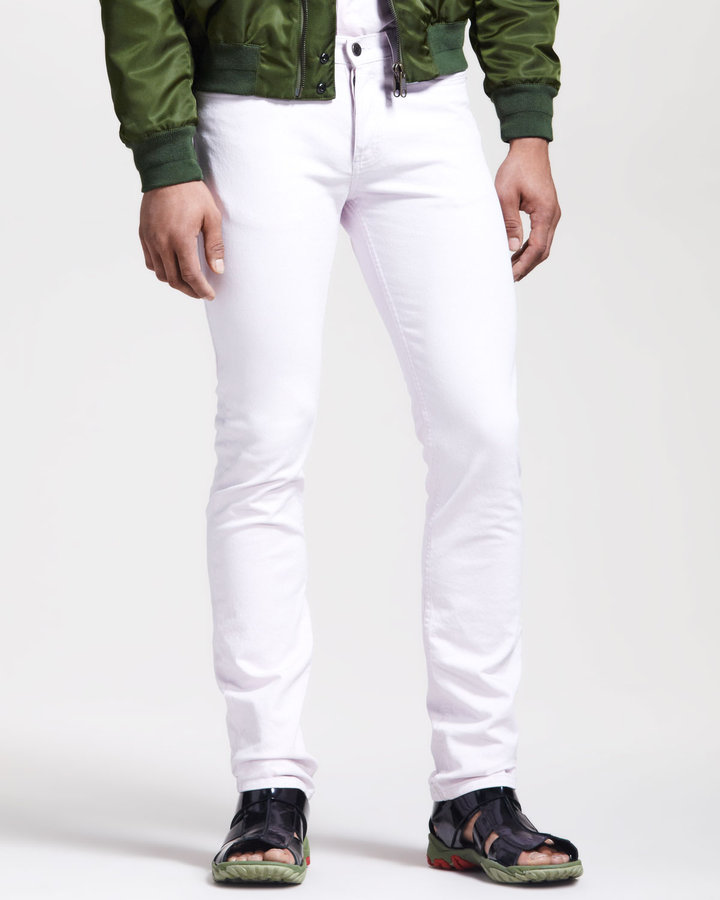 Givenchy Slim-Fit Light Pink Jeans