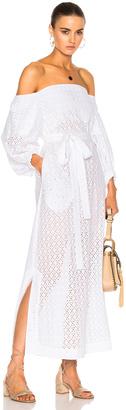 Lisa Marie Fernandez Bubble Sleeve Dress $695 thestylecure.com