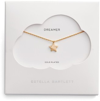 Women's Estella Bartlett Dreamers Star Necklace $30 thestylecure.com