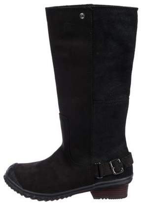 Sorel Leather Mid-Calf Boots