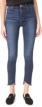 Joe's Jeans Charlie High Rise Skinny Ankle Jeans $179 thestylecure.com