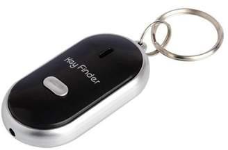 Tonewear Inc New Anti-Lost Alarm Key Finder Useful Whistle LED Light Locator Finder Keychain - Black
