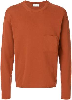 Lemaire chest pocket pique jumper