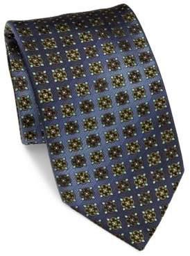 BrioniBrioni Printed Silk Tie