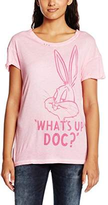 Frog Box FROGBOX Women's Bunny Whats up T-Shirt,36 (EU)