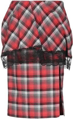 Facetasm Knee length skirts - Item 35396998UH
