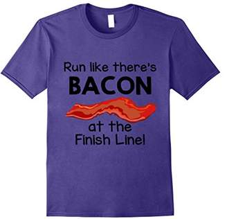 Finish Line Run Like There's Bacon at the T-Shirt