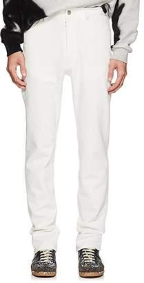 Maison Margiela Men's Cotton-Blend Piqué Skinny Jeans