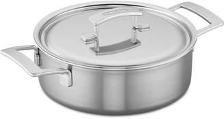 Demeyere Industry 4-Qt. Stainless Steel Deep Saute Pan