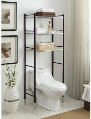 "OIA Duplex 24"" W x 66.25"" H Over the Toilet Storage"