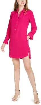 Trina Turk Welwood Long-Sleeve Shirt Dress
