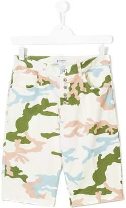 Dondup Kids camouflage shorts