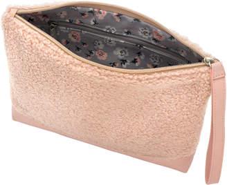 Cath Kidston Faux Shearling Clutch Bag