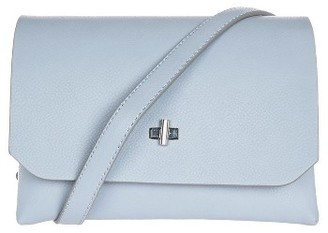 Topshop Otley Faux Leather Crossbody Bag - Blue $48 thestylecure.com