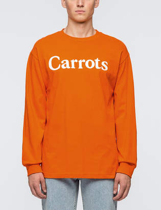 Carrots Word Mark Logo L/S T-Shirt