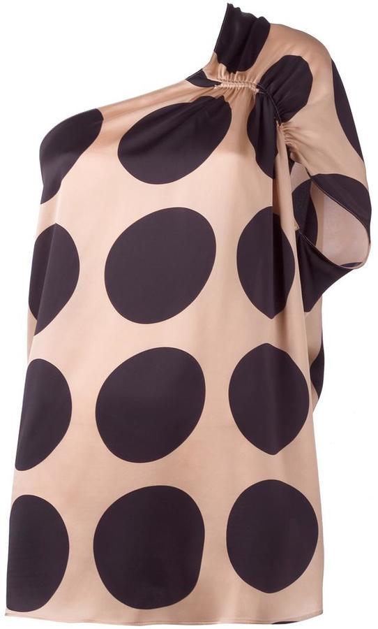 Stella McCartneyStella McCartney one shoulder ruffle top