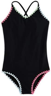 Gossip Girl Girls' Crochet Swimsuit, Big Kid - 100% Exclusive