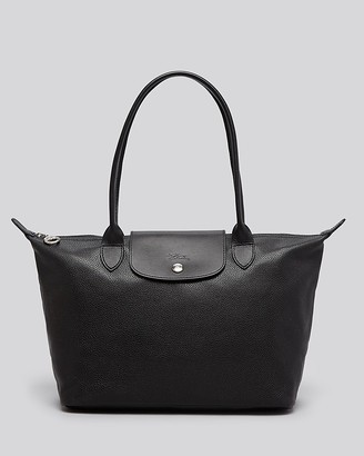 Longchamp Le Foulonne Leather Shoulder Tote - 100% Bloomingdale's Exclusive $490 thestylecure.com