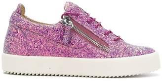 Giuseppe Zanotti Design glitter sneakers