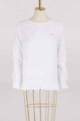 Maison Labiche Amour cotton blouse