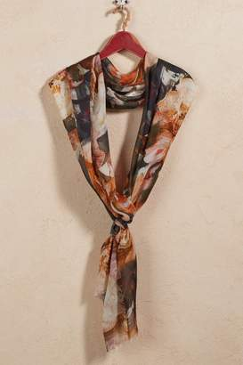 Soft Surroundings Autumn Botanical Scarf
