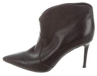 Gianvito Rossi Pointed-Toe Ankle-Boots