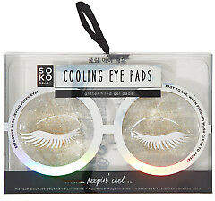 Soko NEW IS Gifts Gifts Ready: Cooling Eye Pads Size OneSize Silver -