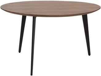 CitySide Contemporary Heston Side Table, Walnut, Walnut Veneer