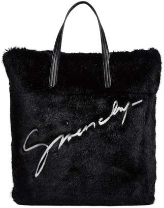619d3f770b7a Givenchy Faux Fur Reversible Tote Bag