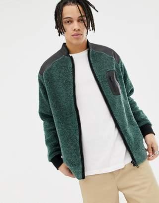 Weekday Mont Zip Sweatshirt