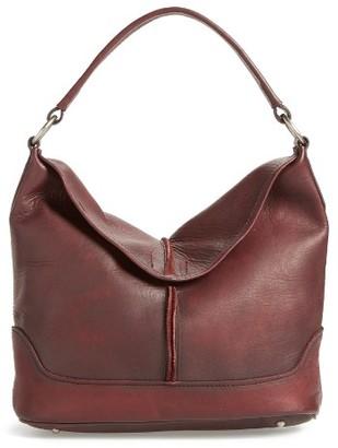 Frye Cara Leather Hobo Bag - Purple $398 thestylecure.com