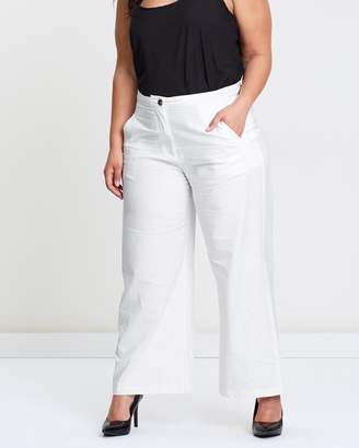 ICONIC EXCLUSIVE - Meeka Wide Leg Linen Pants