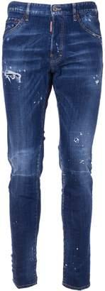 DSQUARED2 Distressed Slim-fit Jeans