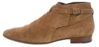 Saint Laurent Jodhpur Suede Boots