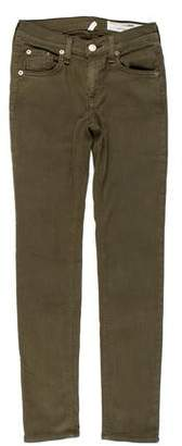 Rag & Bone Cropped Low-Rise Jeans